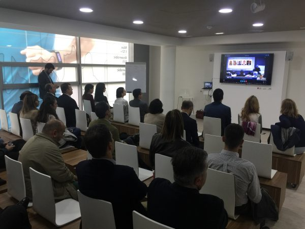 Participamos con nuestro cliente EPTISA en el encuentro del Capítulo Local de Usuarios de Dynamics CRM en Madrid
